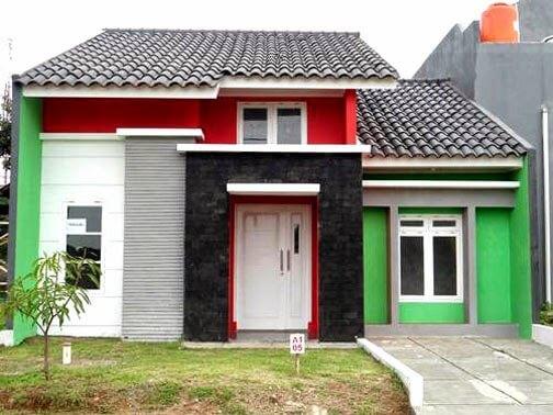 Model Rumah Minimalis Tampak Depan 15