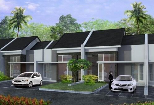 Model Rumah Minimalis Tampak Depan 23