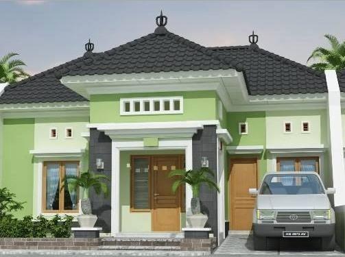 Model Rumah Minimalis Tampak Depan 26