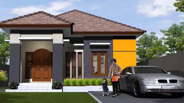 Model Rumah Minimalis Tampak Depan 27