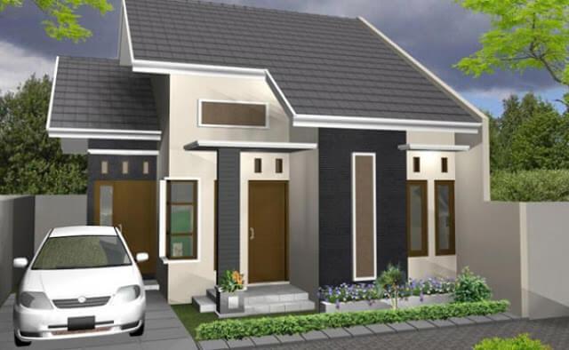 Model Rumah Minimalis Tampak Depan 32