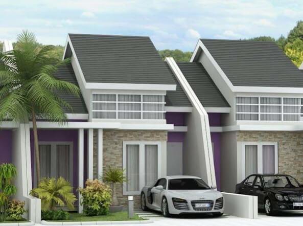 Model Rumah Minimalis Tampak Depan 33