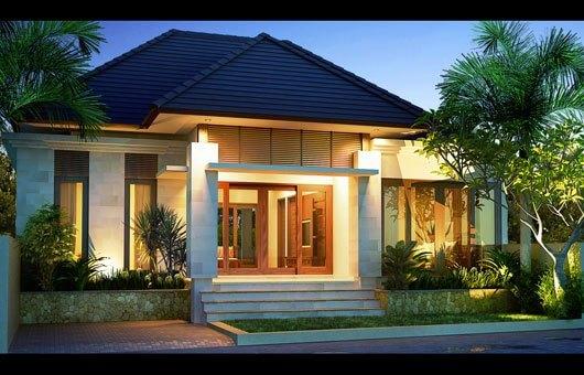 Model Rumah Minimalis Tampak Depan 36