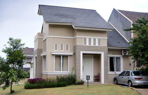 Model Rumah Minimalis Tampak Depan 45