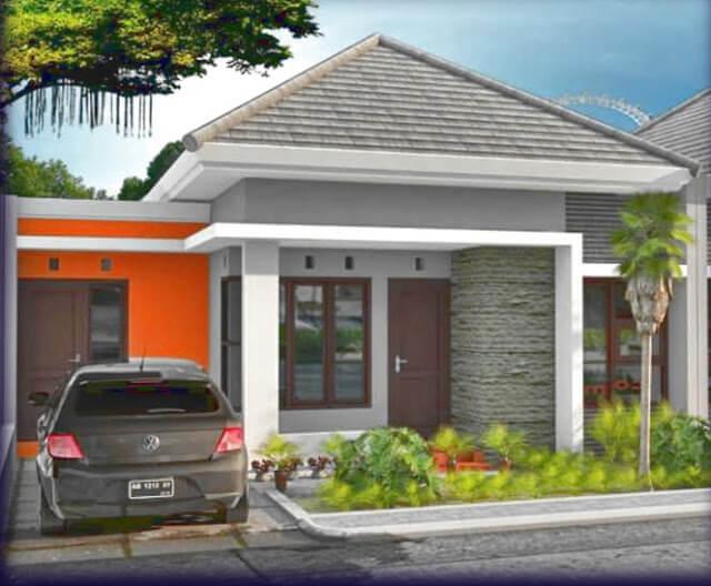 Model Rumah Minimalis Tampak Depan 49