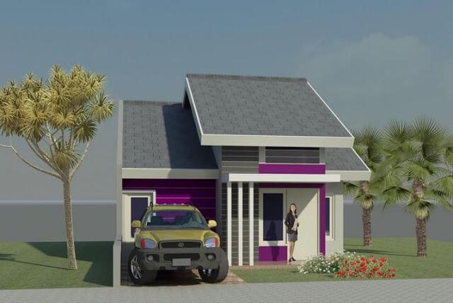 Model Rumah Minimalis Tampak Depan 56