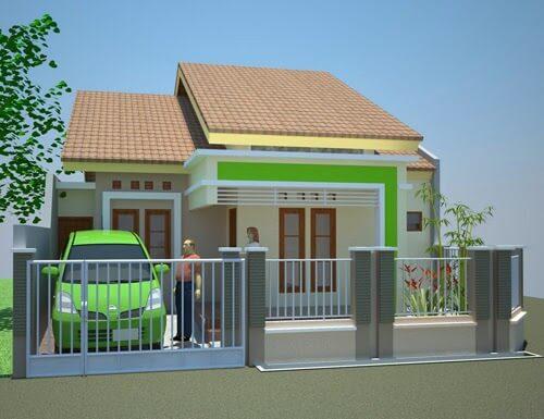 Model Rumah Minimalis Tampak Depan 57