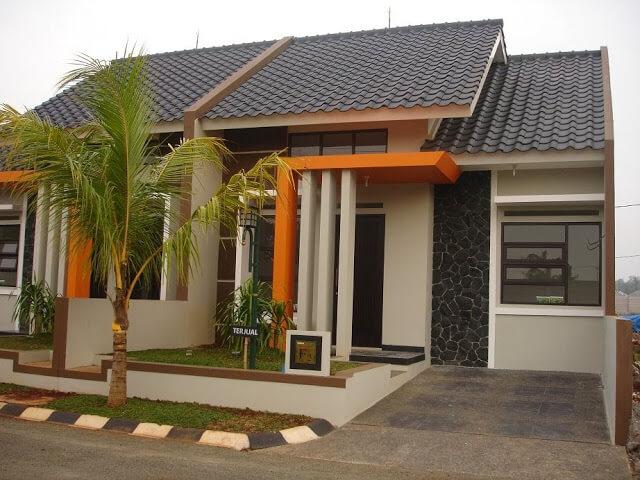 Model Rumah Minimalis Tampak Depan 64