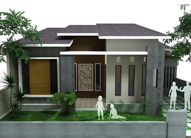 Rumah Minimalis Tampak Depan 6