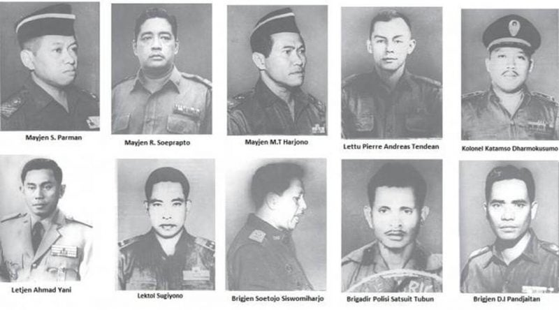 Photo of 10 Pahlawan Revolusi Korban G30S/PKI