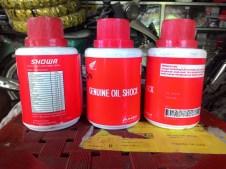 1. Siapkan Oil Botol Showa 3 botol
