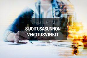 Sijoitusasunto verotus