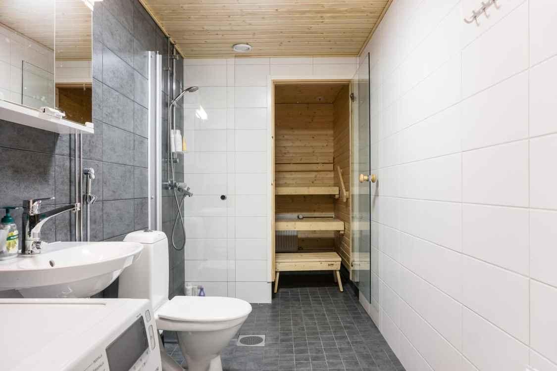Kylpyhuone - kolmio