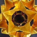 七夕やクリスマスに折り紙で立体星のオーナメントを作ってみよう!