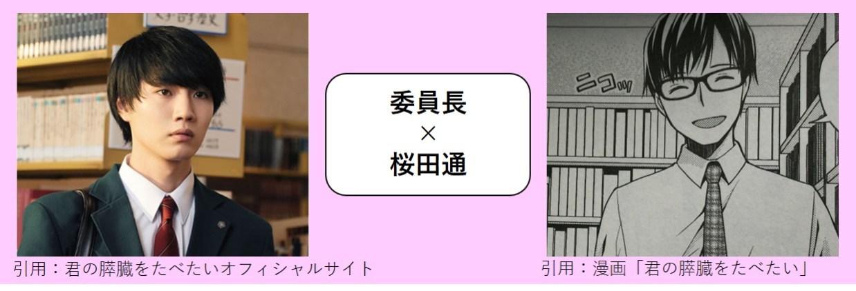 委員長×桜田通