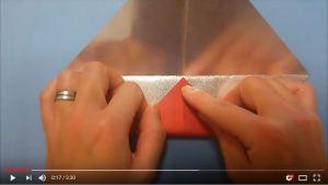 鶴の折り紙④