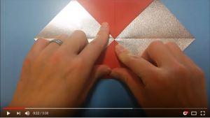 鶴の折り紙⑤