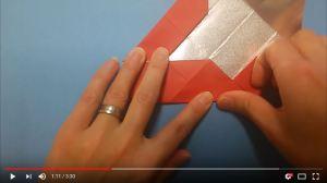 鶴の折り紙⑮