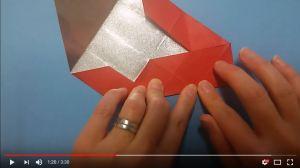 鶴の折り紙⑯