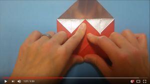 鶴の折り紙⑱