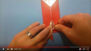 鶴の折り紙㉙