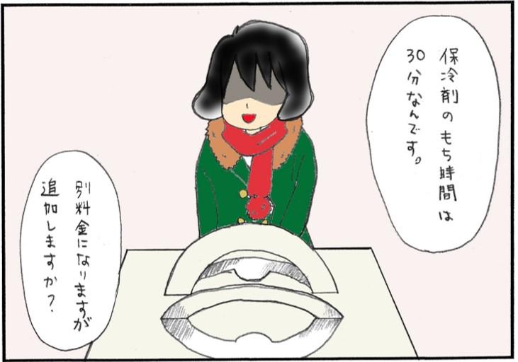 ケーキの保冷剤③