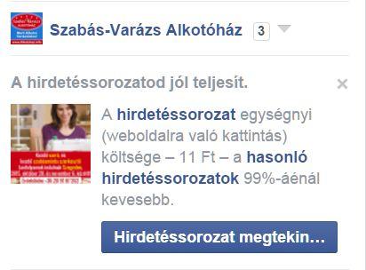 Facebook hirdetések kezelése - Sikerpartner