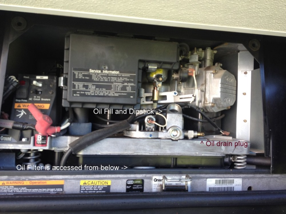 medium resolution of  photo 31 onan marquis gold 5500 oil change rvsikeseeing com generator onan wiring circuit diagram at