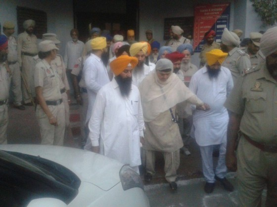 Bibi Jagdish Kaur, Karnail Singh Peermohammad and others arrested by Punjab police to defuse Punjab Bandh Call