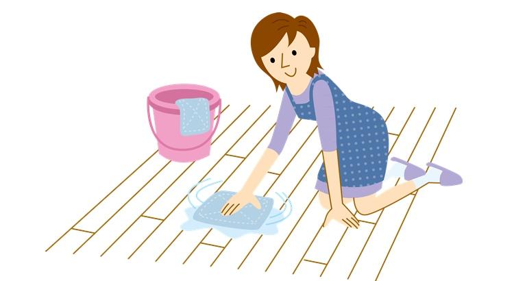 Заговор при мытье полов с солью