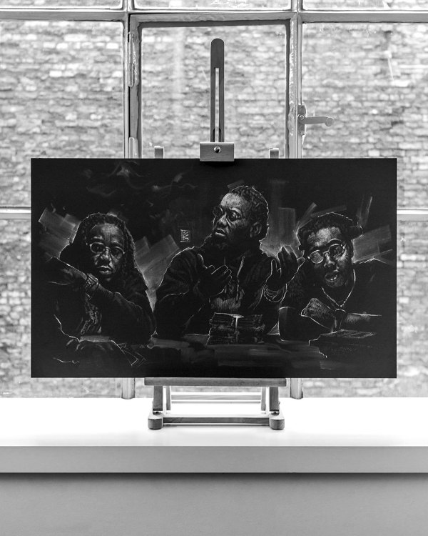 Migos - Original Drawing