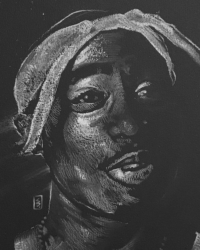 Tupac - Original Drawing