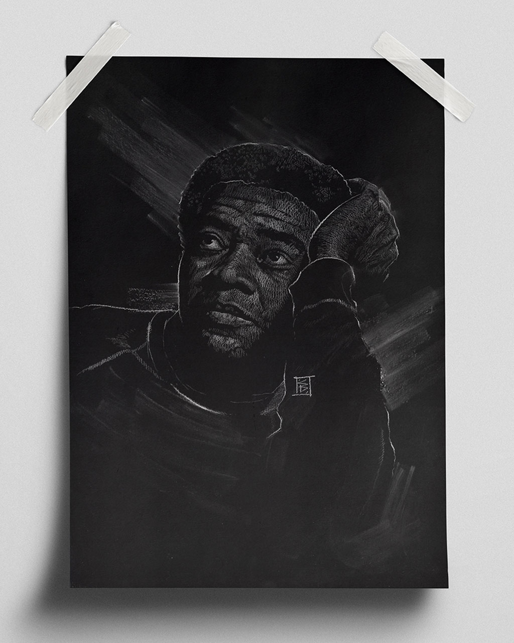 Bill Withers - Fine Art Print (Gliceé)
