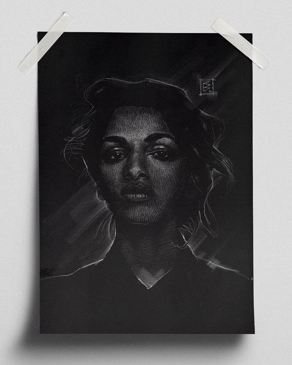 M.I.A. - Fine Art Print (Gliceé)