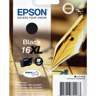 EPSON DURABRITE ULTRA INK CARTUCHO NEGRO 16XL