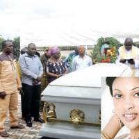 Cynthia Osokogu Finally Laid To Rest As Her Mother Is Conspicuously Absent