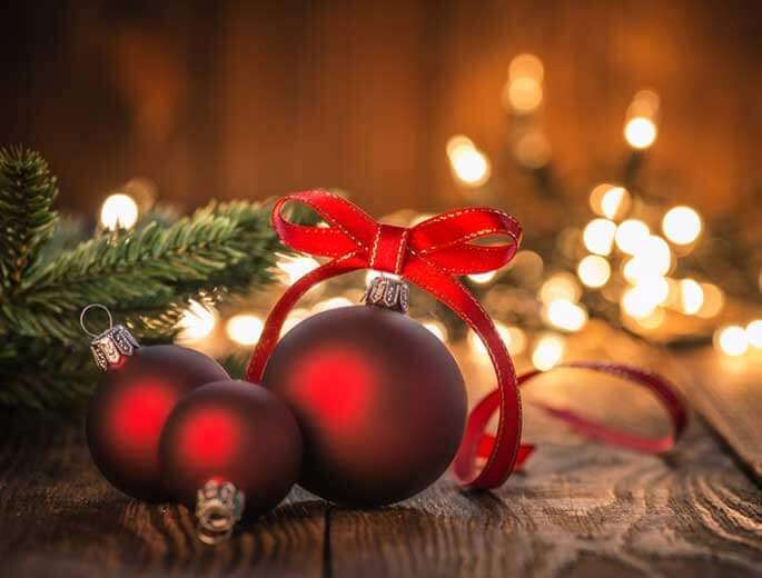 Schnell  einfach WeihnachtsdekoIdeen  silberherzende