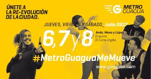 Bienvenida MetroGuagua!!