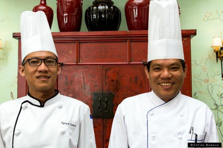 Shangri-La-Paris-La-Bauhinia-Semaine Birmane-Silencio-Chef Aung-Chef Myint
