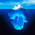 Tip of the Iceberg --- Image by © Ralph A. Clevenger/CORBIS