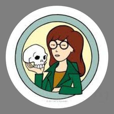 Daria and Skull