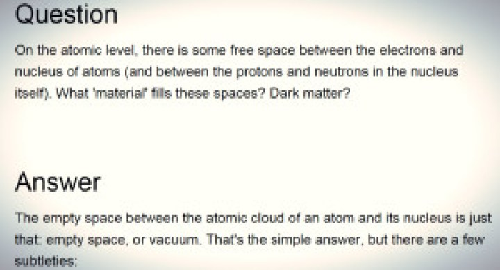 Space Between Edit