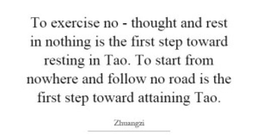 to-exercise-no-thought-and-rest-in-nothing-is-the-first-step-toward-resting-in-tao-to-start-from-quote-1