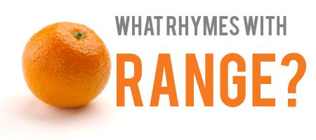 Orange, The Unrhymable Word