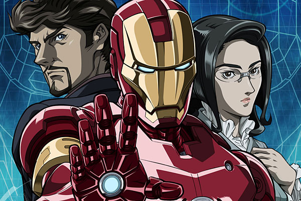 Iron Man Anime 600x400