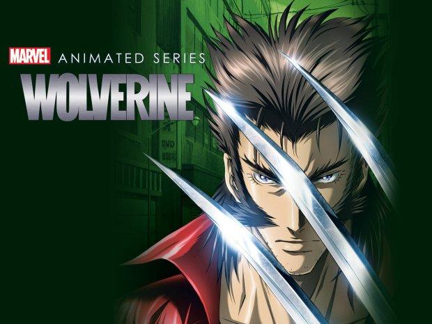Wolverine Marvel Anime