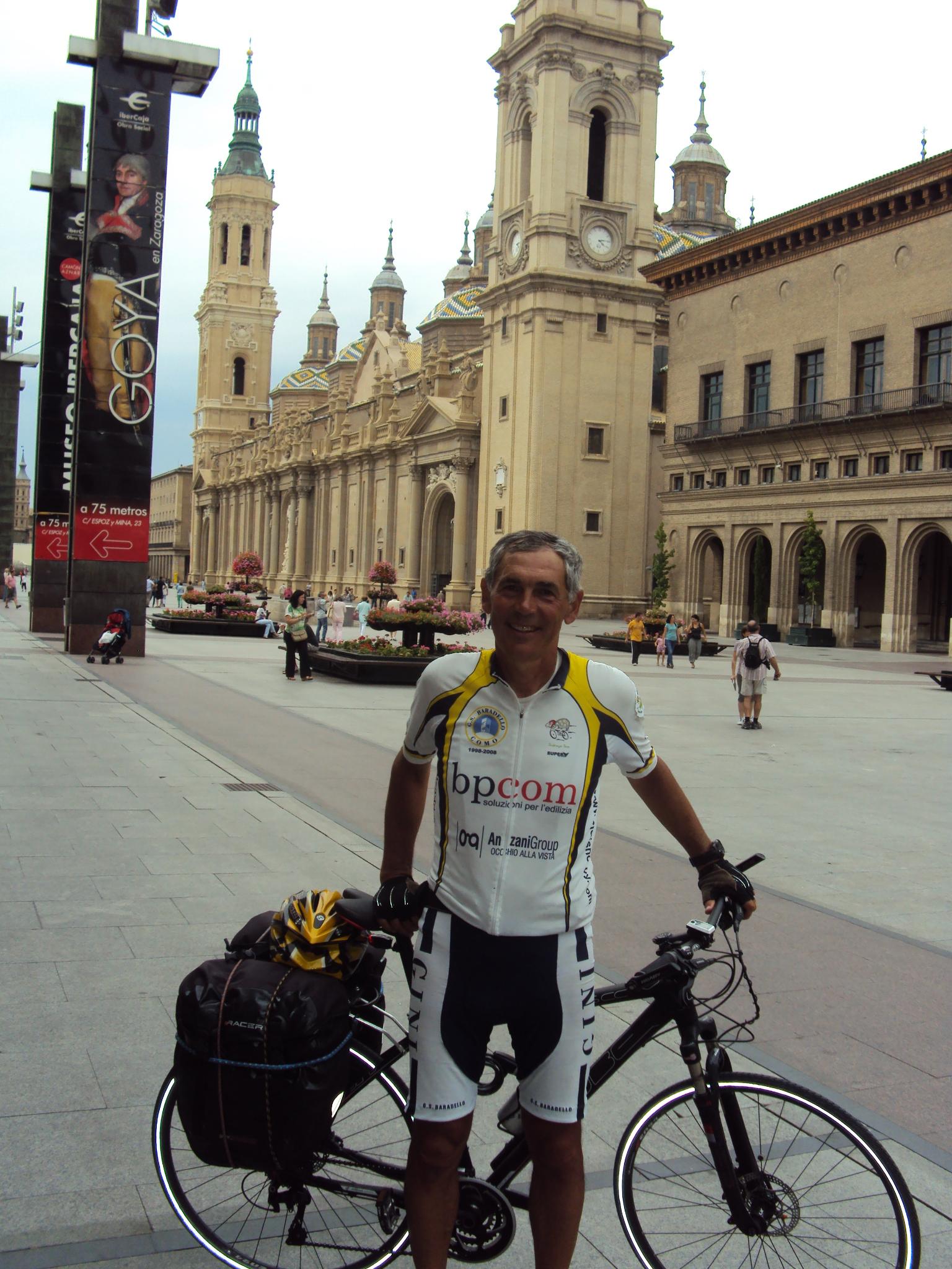 Ruta Mariana in bicicletta  Da Como a Lourdes visitando i santuari mariani di Saint Ethienne Le