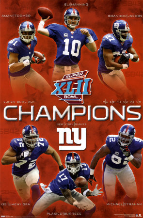 NFL Champion NY Giants