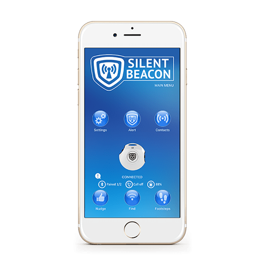 Safety App on Silent Beacon