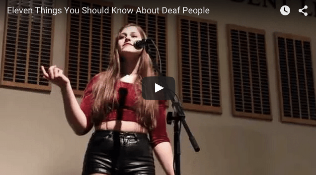 Eleven Things You Should Know About Deaf People